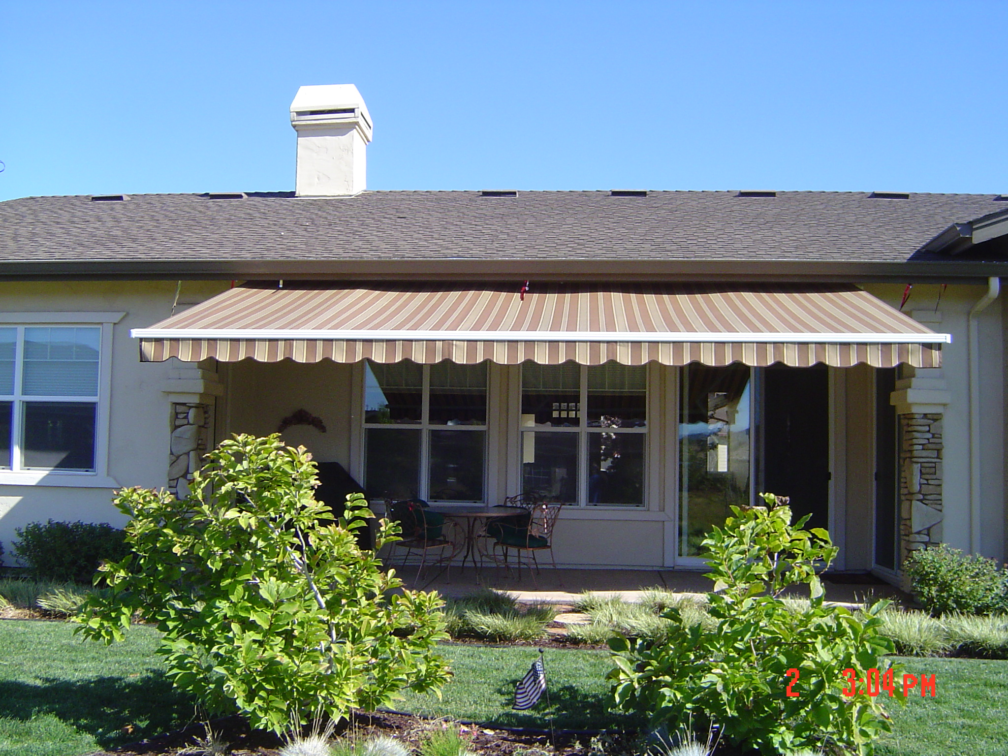 Retractable-over-Patio - Seaspray Awnings & Boat Covers